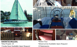 40′ Hunter Sail Boat