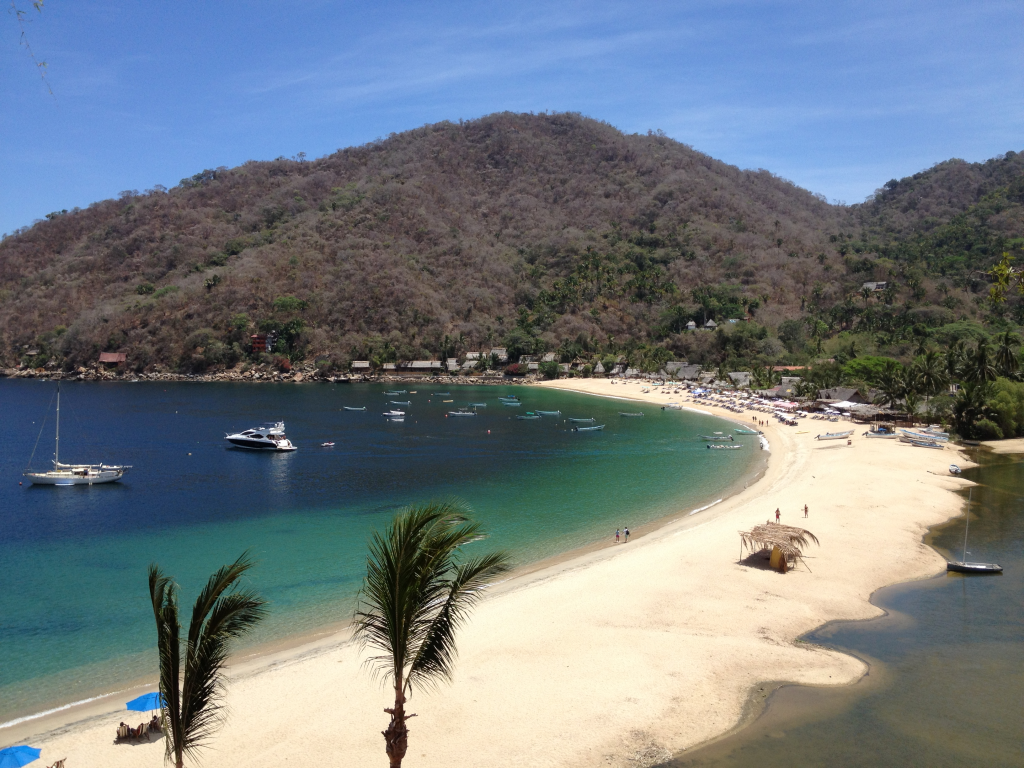 Yelapa - Southernmost cove of the world's seventh largest bay Bahía de Banderas