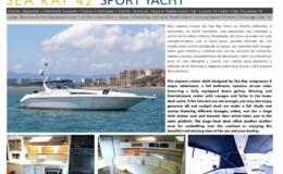 42′ Sea Ray Sport Yacht